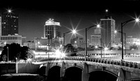 Downtown Dayton at Night